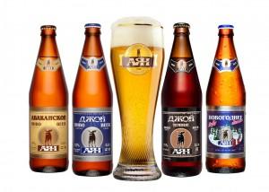 Ассортимент пива АЯН